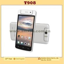 """(T908) Smartphone 4.5"""" capacitive screen with 206 degree Rotatable camera Android 4.2 MTK6572 3G 4G\512MB"""