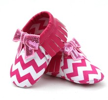 New popular Wholesale baby moccasin shoes free package