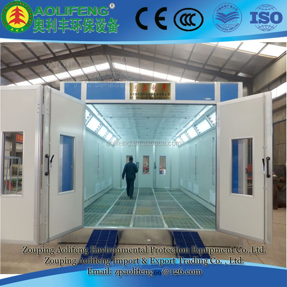 Industrial Painting Booths : Industrial paint booths painting spray booth open face