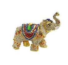 elephant figure elephant trinket jewelry box for home decoration