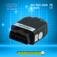 Small OBD2 GPS Tracker IDD-213E 3G GPS Tracker with SIM Card with Diagnostic Function