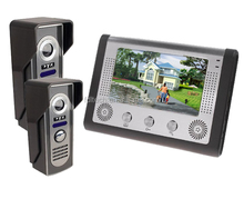 """night vision 7""""inch video door phone with 16 kinds of rings for your options"""