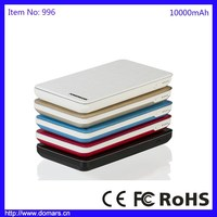 New Tech High Quality Mobile Phone Battery Charger Portable Power Bank 10000mAh