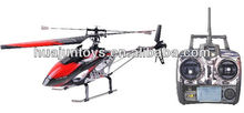 69cm Single blade 4 Ch 2.4G rc helicopter,alloy metal rc helicopter,helicopter radio control(V913)