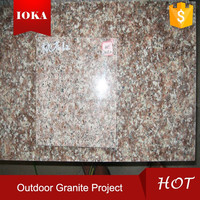 chinese cheap red granite g687 slab for hot sale