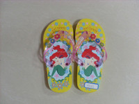 Kids printing cute cartoon footwear flip flop