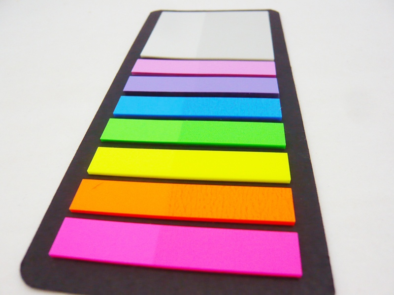Alibaba china neon paper index memo pad self stick letter for Buy letter shaped sticky notes