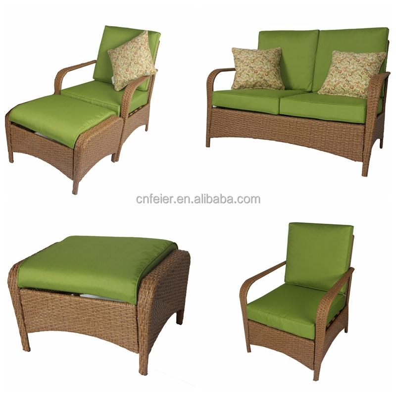 mobiliario jardim rattan : mobiliario jardim rattan:Pátio mobiliário de jardim sofá de vime rattan plástico-Mesas para