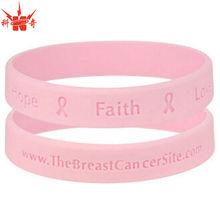 Faith Love Personalized Silicone Bracelet