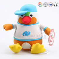 Seek OEM EN71 items plush chicken with egg toy