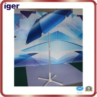 waterproof outdoor cutom promotional folding beach umbrella