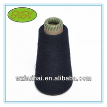 various colors recycle cotton knitted yarn