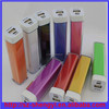 Hot new products for 2015 lipstick power bank 3000mah with led indicator