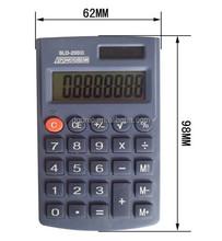 Promotional Gift 8 Max Plastic Material Digit Solar Powered Desktop Calculator