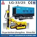Lgcy33-25 diesel portable parafuso compressor de ar/alta pressão portátil parafuso compressor de ar para a mineração