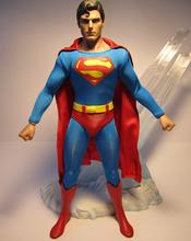high quality 1/6 scale action figure factory,custom action figure PVC maker,customized superman plastic action figure wholesale