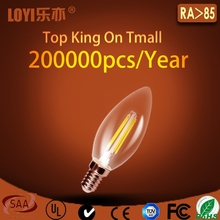 High performance bulb E14 C35 LED chandelier candle light made in China