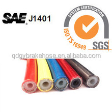 1/8 different color cover stainless steel braided brake line