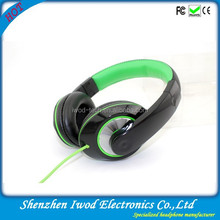 Cool fashionable computer pc use with headphone jack remote control high quality headphones bulk