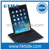 Gtide aluminum smart bluetooth keyboard cover for apple ipad air 2014 highest demand products