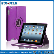 360 Degree Rotating Stand Case With Auto Sleep Feature Leather Case For IPad Case , For Ipad Air Case , For Ipad pro Case