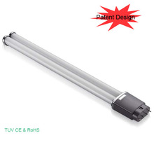 CE ROHS16W 4pin 2g11 base led tube, 2g11 led pl lamp