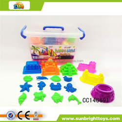 DIY Beach wall set and magic soft sand toys