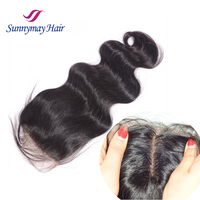 Wholesale 4x4 Free Part Cheap Lace Closure Stock Body Wave Brazilian Virgin Human Hair Silk Base Closures Pieces