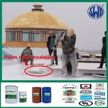 closed cell spray rigid polyurethane foam
