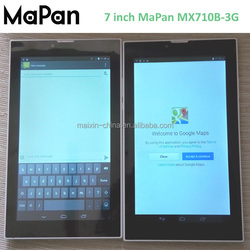 MaPan wholesale android gps tablets dual core/ 1.0ghz mtk8312 tablet calling mobile phone best buy