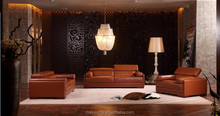2015 modern used leather sofa HD289 in foshan for living room
