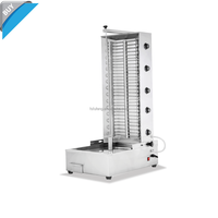 Commercial Heavy Duty Electric Frozen chicken shawarma doner kebab with 5 heaters