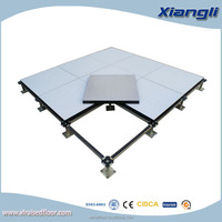HPL Finished Wood core raised floor,600*600*32mm, Anti-static