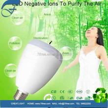 anion LED lamp bluetooth speaker LED bulb with negative ion generator