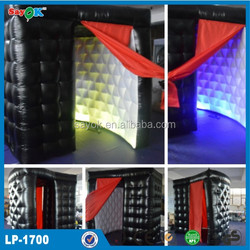 Party wedding portable photo booth inflatable/used photo booth for sale