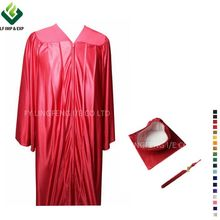 Graduation Shiny Cap and Gown for High School