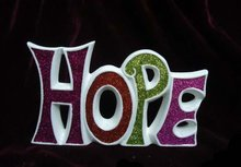 Porcelain indoor home decoration of hope brand