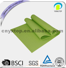 solid colors 3mm pvc sports cork yoga mat