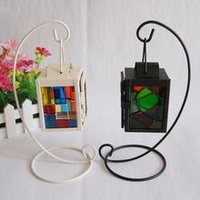 Art& collectible large metal lanterns candle holder