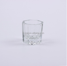 fengshangmei professional glass cup dappen dish for acrylic