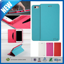 C&T 2015 high quality Soft Inner TPU GEL Rubber Case Flip leather phone cases for iphone 5