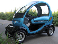 chinese electric car 2016 new technology China 60v 1000w 32ah 4 wheels 2 seat handicapped scooter car electric adult for elderly
