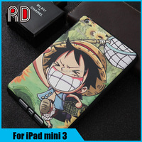 Beautiful landscape PU Leather Folio Flip Stand Smart Cover Cases For ipad mini 3