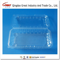 Clear Blister Fruit Container Plastic Packing Tray