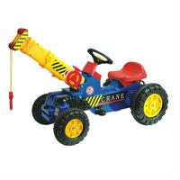 pc-2514 ride on toy crane fashionable kids pedal crane