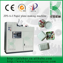 Disposable paper plate machinery in jinan city to produce the paper plate or food tray