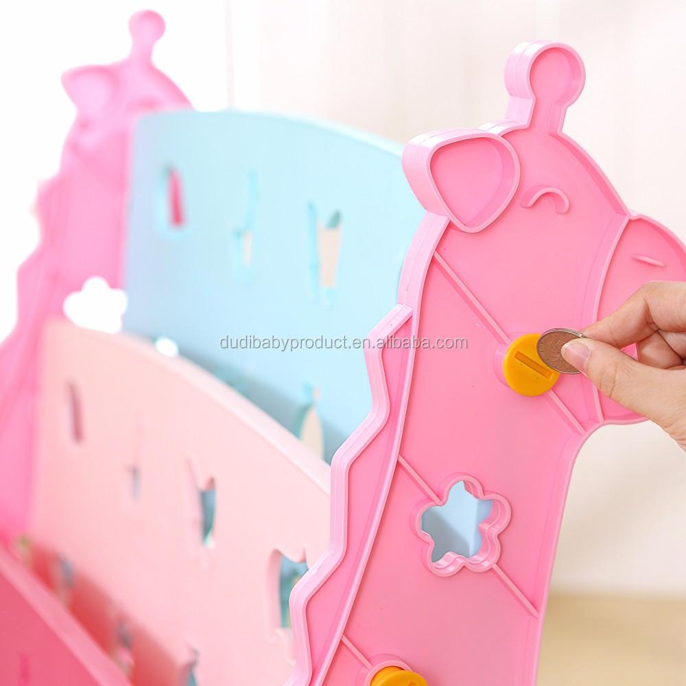 Pas cher enfants meubles en plastique livre cabinet/classe de maternelle meubles/étagère/bookrack