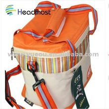 printed can cooler bag 2012 customized recycle durable portable non woven cooler bag simple