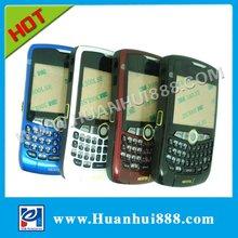 Hard mobile phone parts white housing 8350I 8350 for Blackberry