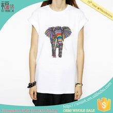 YBT6072-107 customized most popular screen print t-shirts tropical for man